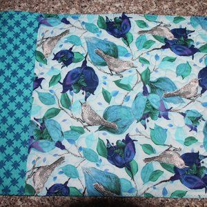 SET OF 4 PLACEMATS - Birds/Flowers/Spring - New